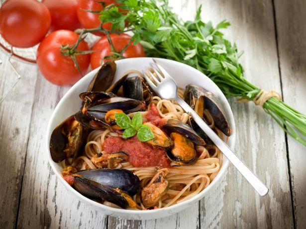 Самое популярное блюдо с мидиями - паста