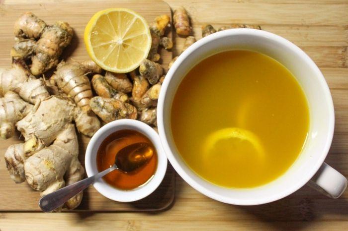 чай имбирь лимон мед для похудения отзывы