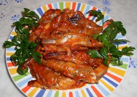 Килька в томатном соусе в домашних условиях рецепт