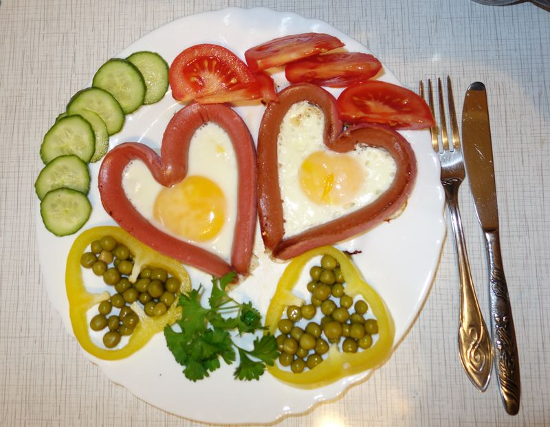 Как сделать завтрак любимой 897