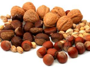 Виды орехов