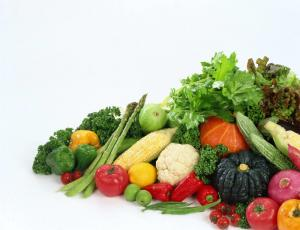 Калий в овощах