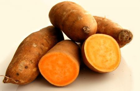 Батат - клубни картофеля