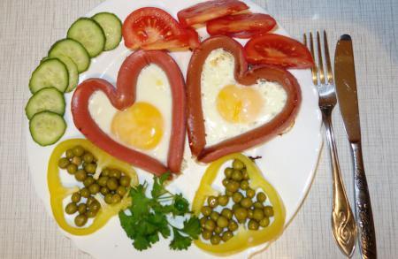Праздничный завтрак для любимого