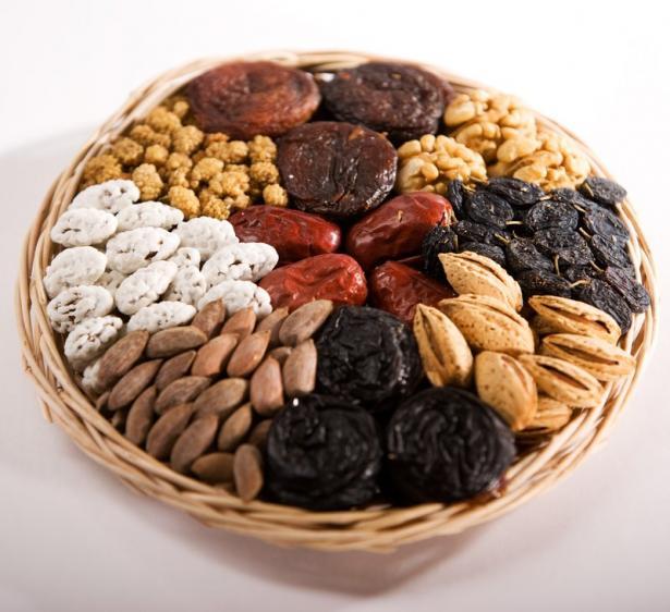 Диета на орехах и сухофруктах