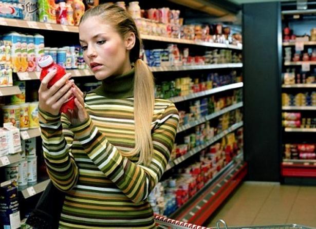 Информация на упаковке продуктов питания